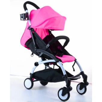 Babytime Portable Pushchair Lightweight Compact and Cabin SizeStroller(Rose Pink) Price Philippines