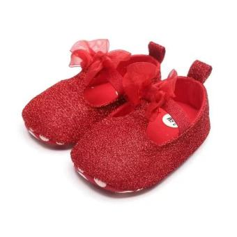 Babyzone Pre-walker Shoes for Baby Red 0 to 6 Months Old