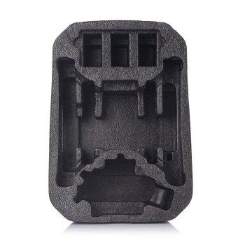 Backpack Hardshell CarryinG Case Bag Hard Shell Waterproof for DJI Phantom 3 & 4 Black - intl - 5