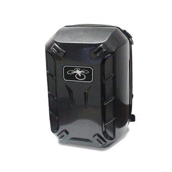 Backpack Hardshell CarryinG Case Bag Hard Shell Waterproof for DJI Phantom 3 & 4 Black - intl - 2