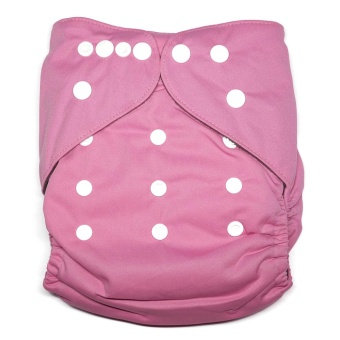 Bamboo Charcoal Little Tots Pink Cloth Diaper