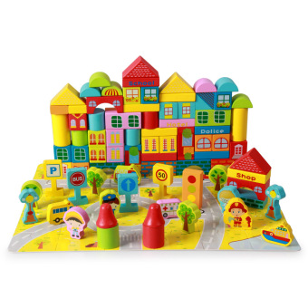 Baobao Children's Early Childhood Yi Zhi large building blocks