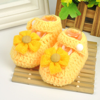 Baobao cute yarn spring and summer newborns shoes Baby Shoes