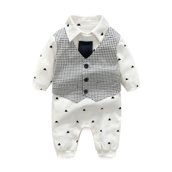 Baobao for men and women baby one-piece newborns clothes