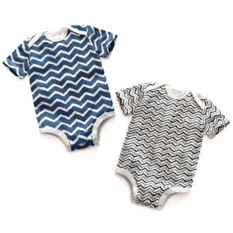 Baobao thin spring and summer crawling clothes onesie