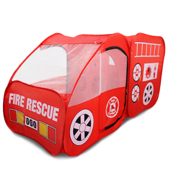 Baobao toys house large house fire truck tent children's car tent