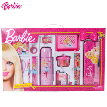 Barbie princess young student's stationery gift box Barbie
