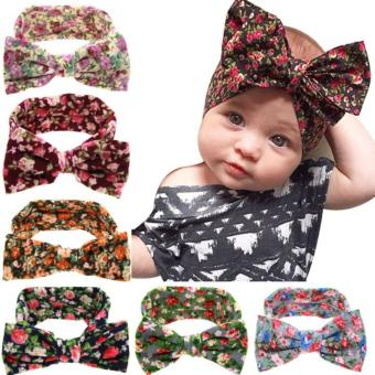 Bear Fashion Baby Girls Headband Head Wrap Knotted Hair Band - intl