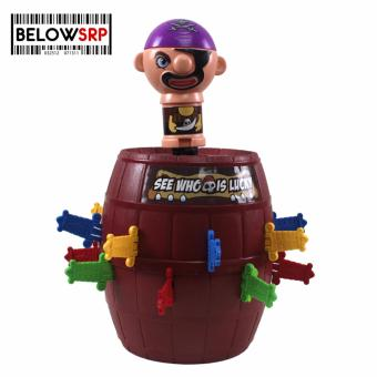Below SRP Running Man Pirate Sword Roulette Barrel Game (large) Price Philippines