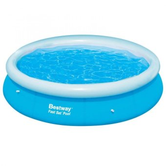 Bestway Inflatable Outdoor Swimming Pool 10 Feet by 30 Inches(Blue)