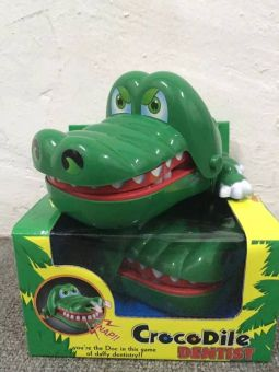 Big Crocodile Mouth Dentist bite finger game toy Buy One Take One