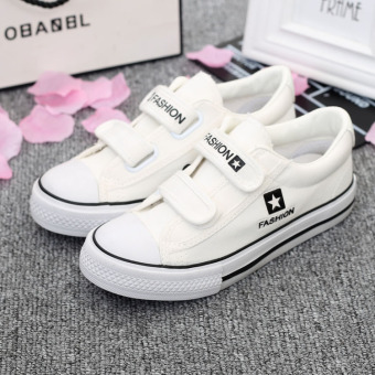 Big kid flat casual cloth shoes children sail cloth shoes