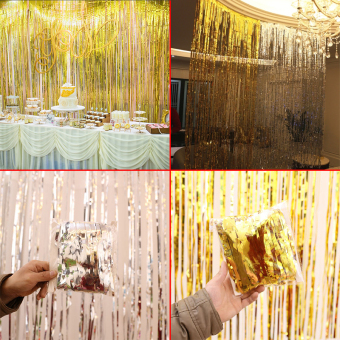 Birthday Party Decorative Item String Curtain