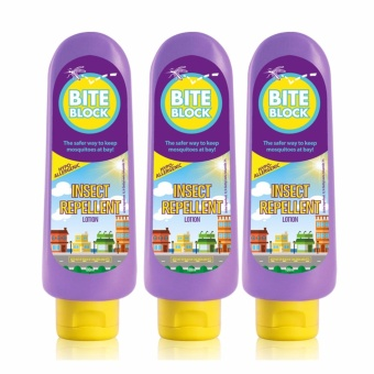 Bite Block Insect Repellent 100mL Set of 3