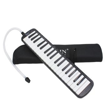BolehDeals 37 Key Melodica Musical Instrument With Carry Bag Black