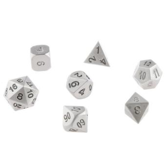 BolehDeals 7pcs/Set TRPG Games Dungeons & Dragons D4-D20 Multi-sided Dices Color #10 - intl
