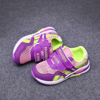 Breathable mesh spring New style face children's shoes
