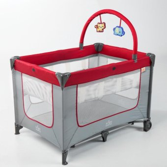 Bright Starts Jazzy Bay Smart and Simple Playard