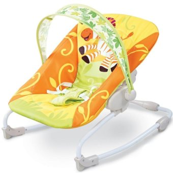 Bright Starts Mental Baby Rocking Chair Infant Bouncers BabyKidsRecliner Vibration Swing Cradle With Music