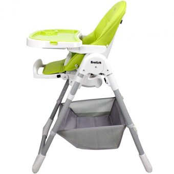 Brotish Comfortable Baby High Chair Safety Feeding Chair BoosterSeat (Apple Green) - 3