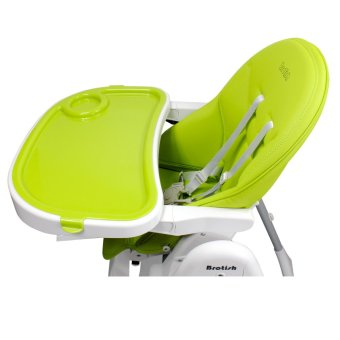Brotish Comfortable Baby High Chair Safety Feeding Chair BoosterSeat (Apple Green) - 5