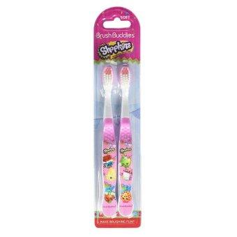 Brush Buddies Shopkins Toothbrush - 2pcs
