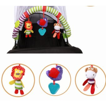 Buggy Stroller Bed Arch with Plush & Musical Toys - intl - 5