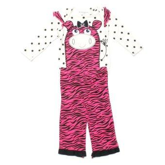 Buster Brown Zebra Print Bodysuit Set