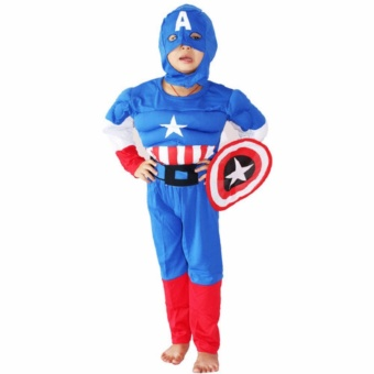 Captain America Kid Costume (Medium)