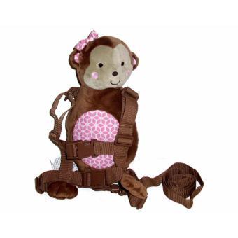 Carter's 2-in-1 Harness Buddy - Monkey (Pink)
