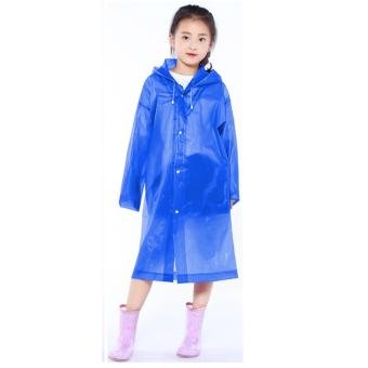 Cartoon Kids Rain Raincoat For Children Waterproof Rain CoatOutdoor Rainwear for boys and girls 6-12 years old