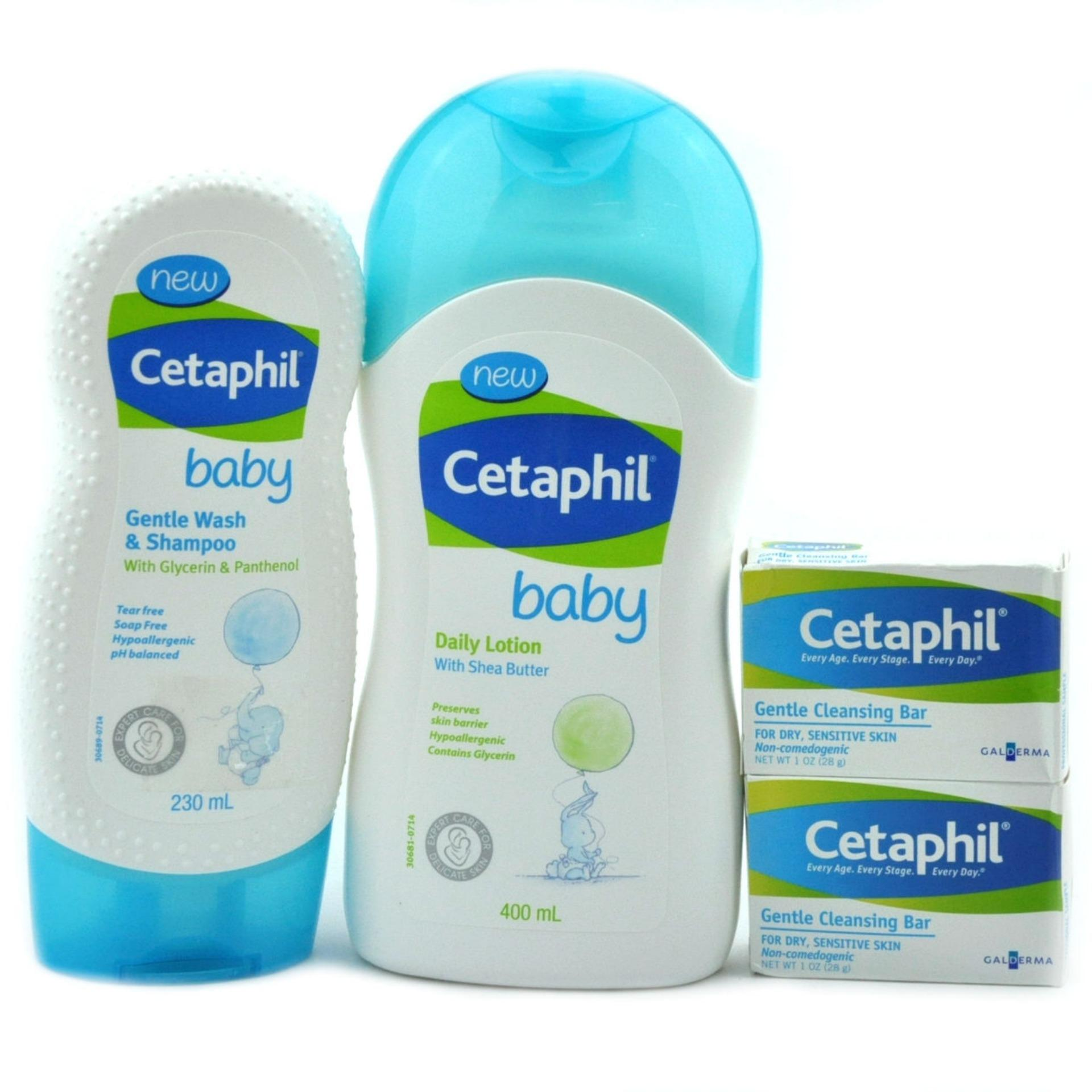 Philippines Cetaphil Baby Bundle Cleansing Collection Flash Sale Daily Lotion With Shea Butter 400 Ml