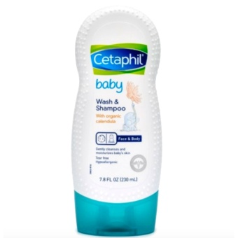 Cetaphil Baby Wash and Shampoo with Organic Calendula (230ml)