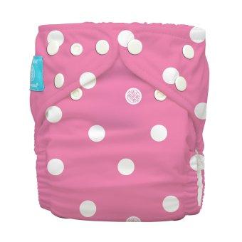 Charlie Banana Big Polka Dots 2-in-1 Cloth Baby Diaper with Insert