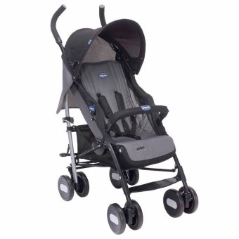 Chicco Echo Stroller with Bumper Bar (Coal)
