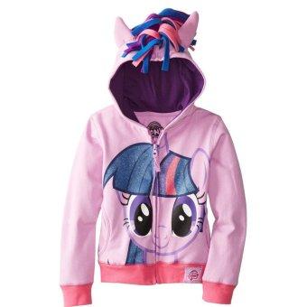 Child Baby Little Girls Jacket Spring Autumn Kids Coat Hoodie LongSleeve Outerwear ? D - 3