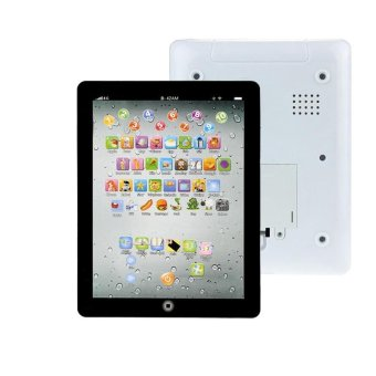 Child Touch Type Computer Tablet English Learning Study Machine ToyBlack - intl