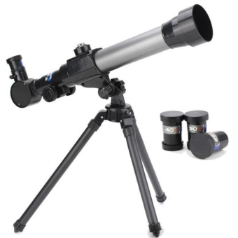 children Astronomical telescope for Christmas and birthday gifts Black - intl