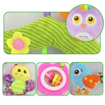 Children Plush Toys Animal Pendant Hanging Infant Bed Crib StrollerToy - intl - 3