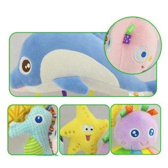 Children Plush Toys Animal Pendant Hanging Infant Bed Crib StrollerToy - intl - 5