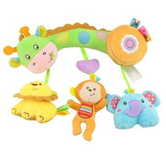 Children Plush Toys Animal Pendant Hanging Infant Bed Crib StrollerToy - intl - 2