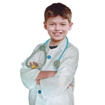Children Role-play Costume Accessories Pretend Play Set,Doctor Clothes - intl