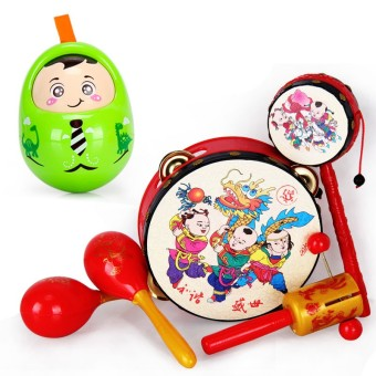 Children's children's early childhood rattle music drum