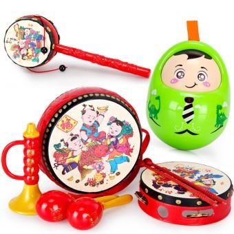 Children's children's early childhood rattle music drum