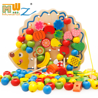 Children's girl's large toys around the bead