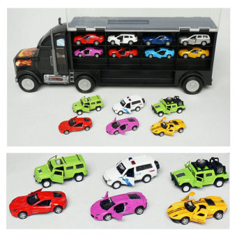 Children's toys small car alloy model big truck