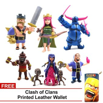 Clash of Clans COC Super Cell Troops Action Figures Set of 6
