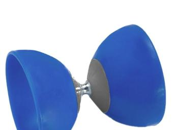 Classic Chinese Yo-Yos Diabolo Juggling Spinning Toy with HandSticks (Blue) - 5