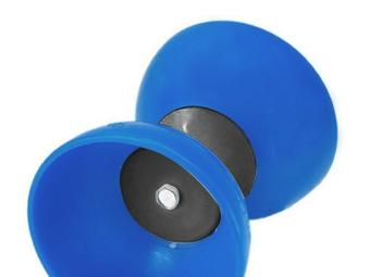 Classic Chinese Yo-Yos Diabolo Juggling Spinning Toy with HandSticks (Blue) - 3
