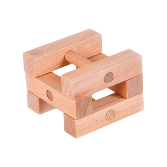 Classic classical cube adult children strut burr puzzle